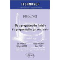 Informatique de la programmation lineaire a la programmation