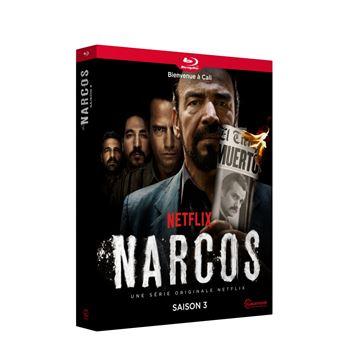 NarcosCoffret Narcos Saison 3 Blu-ray