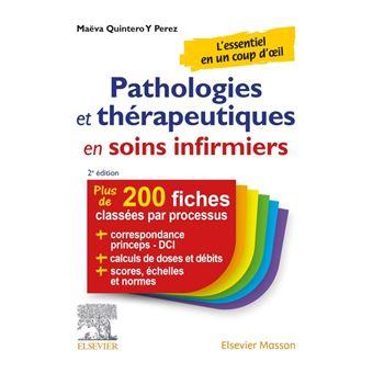 Pathologies et thérapeutiques en soins infirmiers