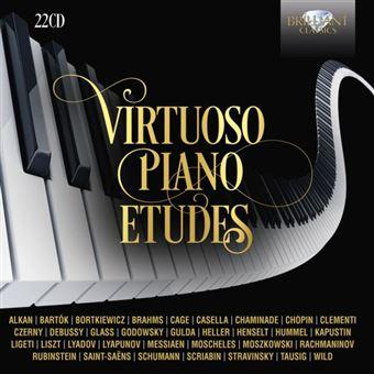 VIRTUOSO PIANO ETUDES/22CD