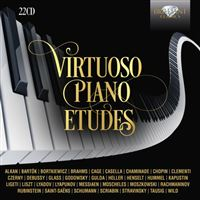 VIRTUOSO PIANO ETUDES/22CD