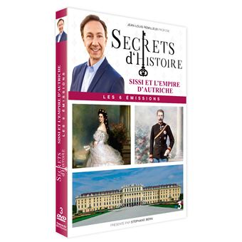 Coffret Secrets d'histoire Sissi et l'empire d'Autriche DVD