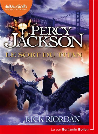 Percy Jackson - 1 CD MP3 Tome 3 : Le Sort du Titan