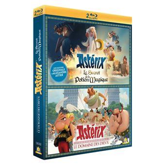 AstérixCoffret Astérix : Le Domaine des Dieux et Le Secret de la Potion Magique Blu-ray