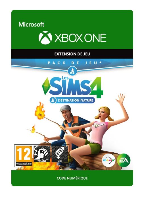 Code de téléchargement Les Sims 4 : Destination Nature Xbox One
