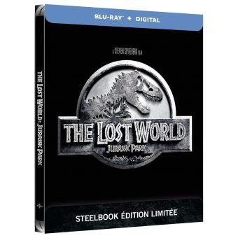 Jurassic ParkJurassic Park Le monde perdu Steelbook Blu-ray