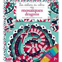 Mosaiques dragons - pochette avec accessoire