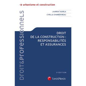"""Résultat de recherche d'images pour """"Droit de la construction : responsabilités et assurances"""""""