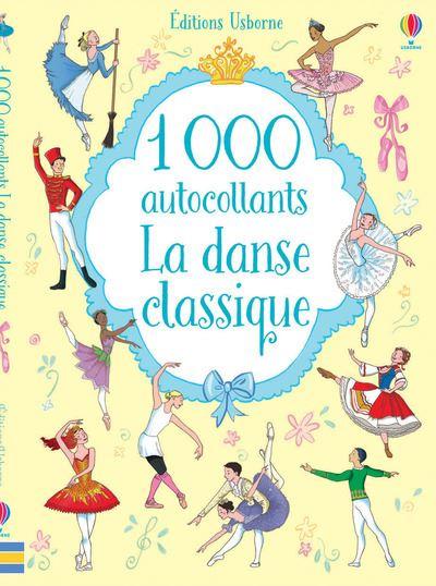 1 000 autocollants - La danse classique
