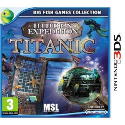 Hidden Expeditions Titanic 3DS - Nintendo DS