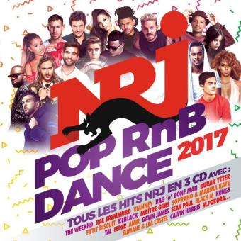 Nrj pop rnb dance 2017/3 cd