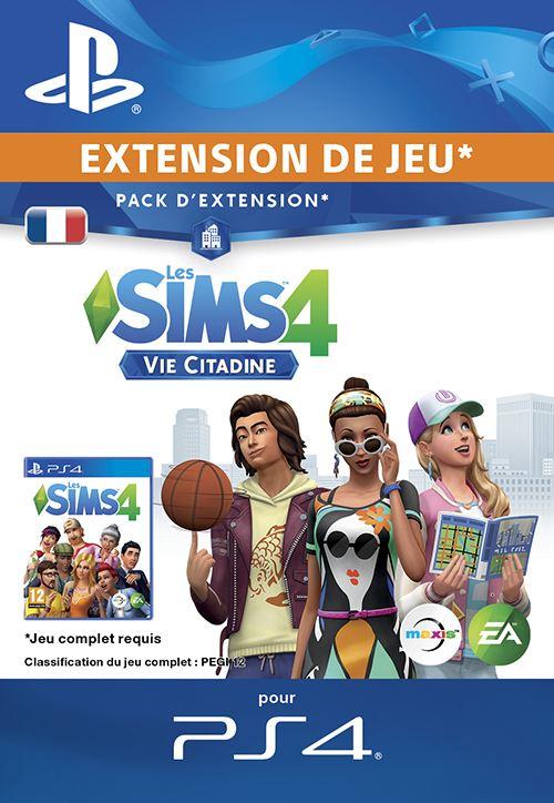 Les Sims 4 Vie Citadine PS4 code de téléchargement