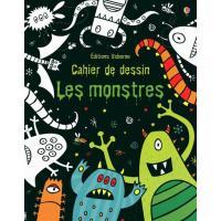 Cahiers de dessin : Les monstres