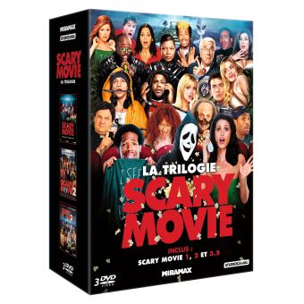 Coffret Scary Movie La Trilogie DVD