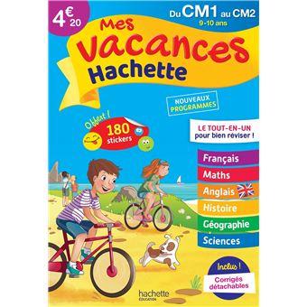 Mes Vacances Hachette Cm1 Cm2 Le Tout En Un