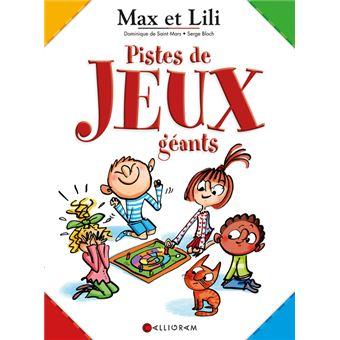 Max Et Lili Livre Planches De Jeux Jeux Geants Max Et Lili