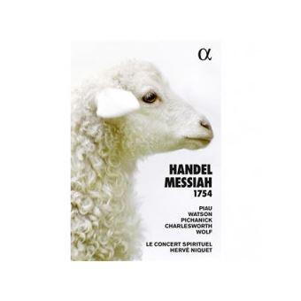 Messiah 1754 -book+cd-