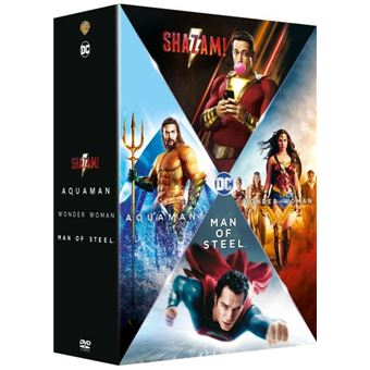 Justice leagueCoffret Origin Stories 4 Films DVD