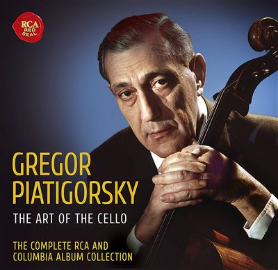 The Art Of The Cello Complete Rca & Columbia Album Collection