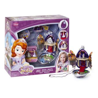 Amulette avec 3 figurines incluses Princesse Sofia