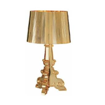 Lampe de Table Bourgie Kartell Or 5 Superbe Lampe or Kdj5
