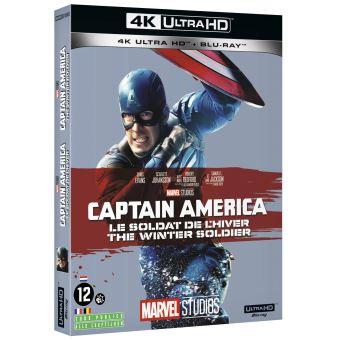 Captain AmericaCaptain America 2 : Le soldat de l'hiver Blu-ray 4K Ultra HD