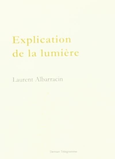 Explication de la lumière