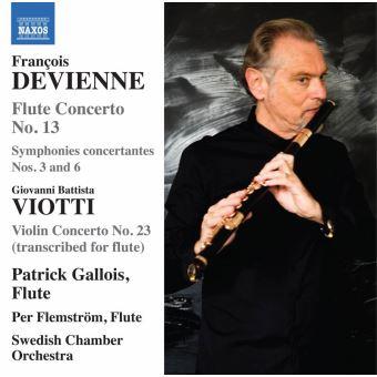 Devienne concerto flute n 13/viotti concerto violon n 23