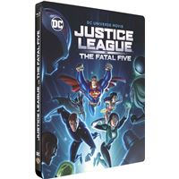 Justice League Vs The Fatal Five Steelbook Blu-ray