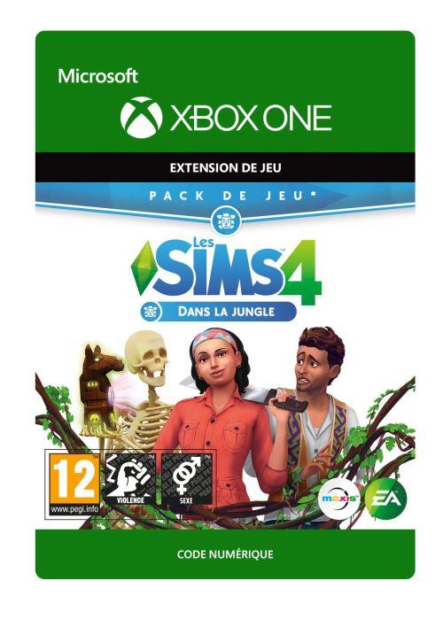 Code de téléchargement Les Sims 4 : Dans la Jungle Xbox One