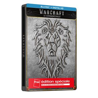 Warcraft Le Commencement Edition spéciale Fnac Steelbook Blu-ray