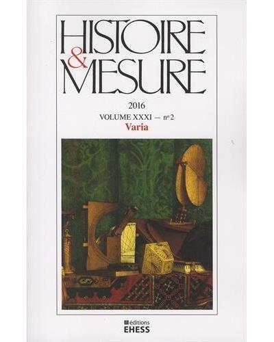 Histoire et mesure