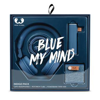 Fresh 'n Rebel Colour Pack Indigo Headset