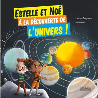 Estelle et Noé à la décuverte de l'univers !