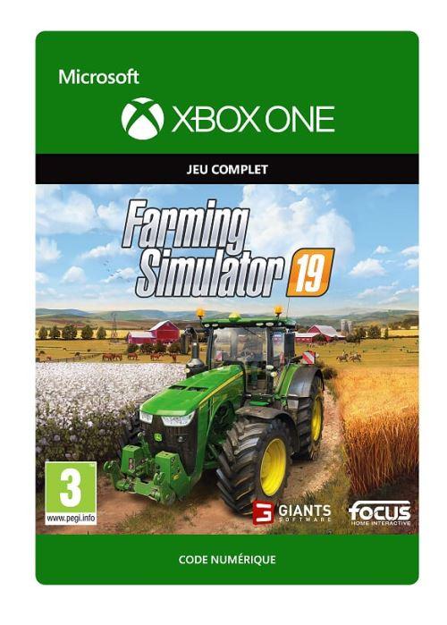 Code de téléchargement Farming Simulator 19 Xbox One