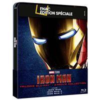 Coffret Iron Man La Trilogie Steelbook Exclusivité Fnac Blu-ray