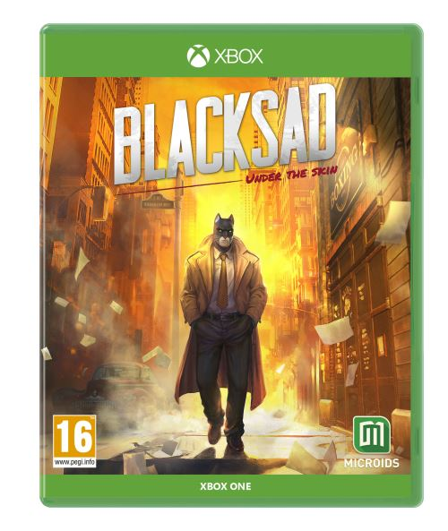 Blacksad Under the Skin Edition Limitée Xbox One