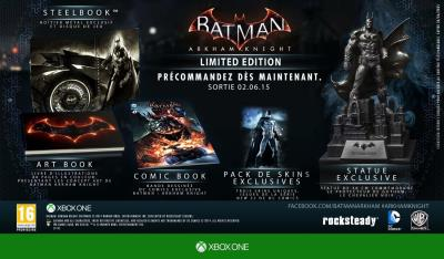 Batman Arkham Knight Limited Edition Xbox One