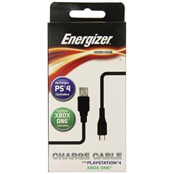 Câble de charge Energizer Universal Power and Play pour PS4 et Xbox One