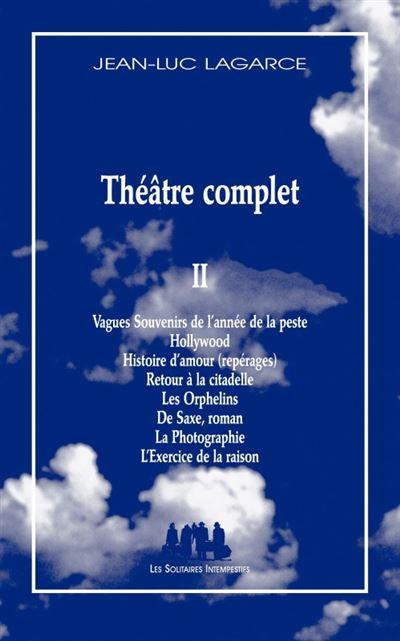 Théâtre complet 2