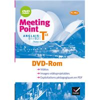 Meeting Point Anglais Tle éd. 2012 - DVD Rom