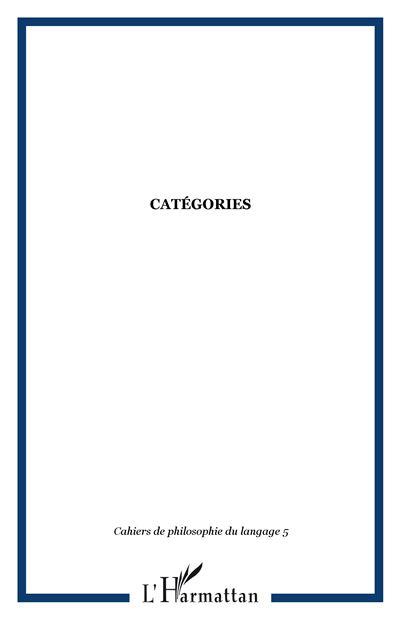 Catégories