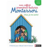 Mon coffret premières lectures Montessori, Chut, je me cache ! Niveau 2, Les sons é, ch, ou