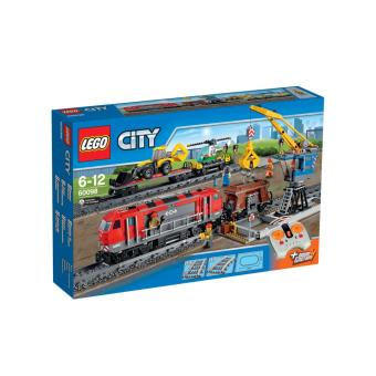 lego city 60098 le train de marchandises lego achat prix fnac. Black Bedroom Furniture Sets. Home Design Ideas