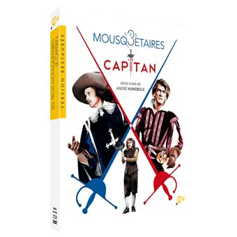Coffret Hunebelle Edition Spéciale Fnac Blu-ray