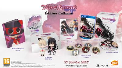 Tales of Berseria Edition Collector PS4