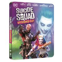 Suicide Squad Edition Comic Steelbook Blu-ray 4K Ultra HD