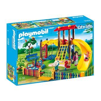 Playmobil City Life 5568 Square pour enfants avec jeux - Playmobil ...