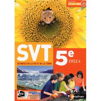 Spiral'ère SVT 5ème Cycle 4