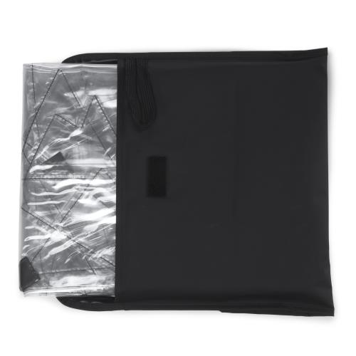 Housse de pluie pour poussette Chicco Echo Twin Fabriqu/é au Royaume-Uni en PVC transparent super doux
